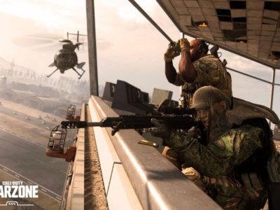 Modern Warfare warzone tower