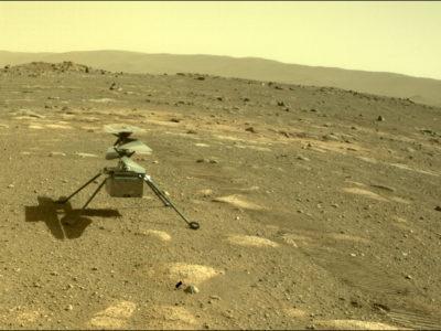 Mars Ingenuity helicopter